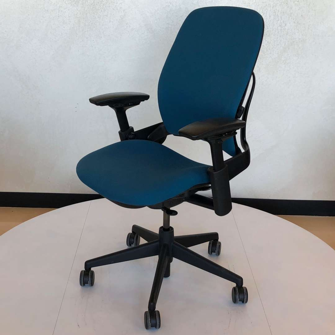 Steelcase Leap V36 Blue Fabric